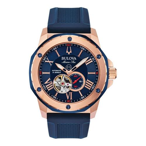 Reloj Bulova Para Caballero Modelo: 98a227 Envio Gratis