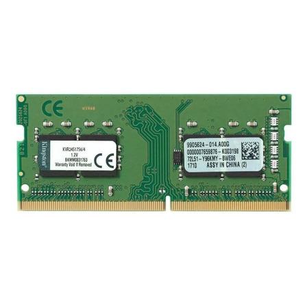 Memoria RAM ValueRAM  4GB 1 Kingston KVR24S17S6/4