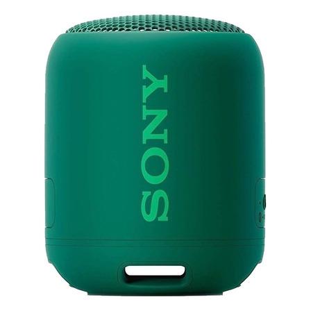 Parlante Sony Extra Bass SRS-XB12 portátil con bluetooth verde