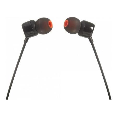 Fone de ouvido JBL Tune 110 black