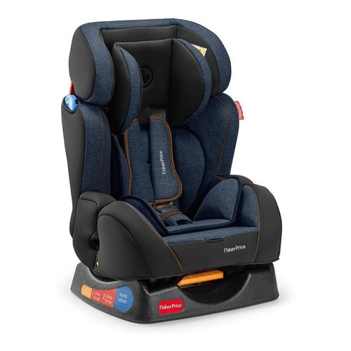 Cadeira Infantil Para Carro Fisher-price Hug Azul-jeans