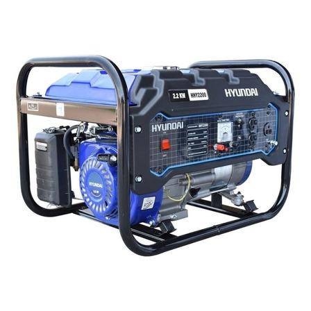 Generador portátil Hyundai HHY2200 2200W monofásico 110V