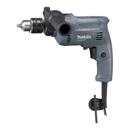 Taladro eléctrico percutor y destornillador Makita M0801G 3200rpm 500W gris 127V