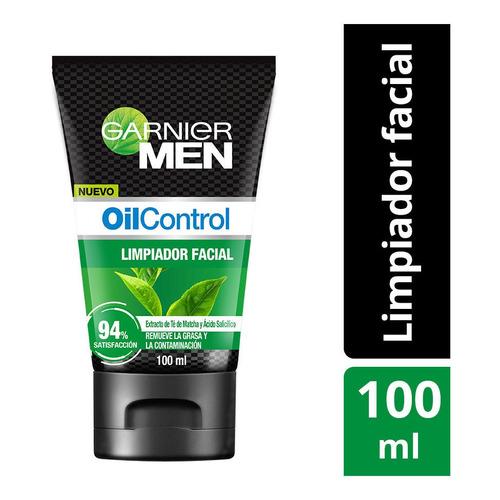 Limpiador Facial Matificante Garnier Men Oil Control 100ml