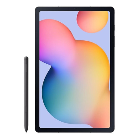 "Tablet Samsung Galaxy Tab S6 Lite SM-P615 10.4"" 64GB oxford gray com memória RAM 4GB"