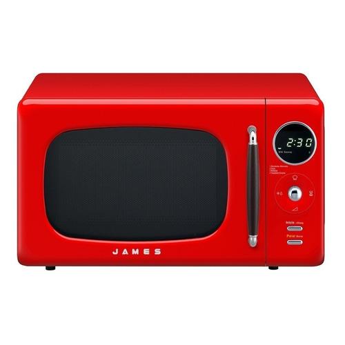 Microondas James Retro J-20   pure red 20L 230V
