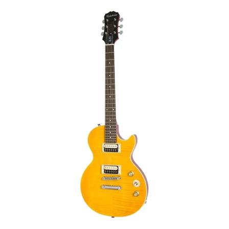 """Guitarra eléctrica Epiphone Slash """"AFD"""" Les Paul Special II Outfit les paul special-ii de okoume appetite amber con diapasón de palo de rosa"""