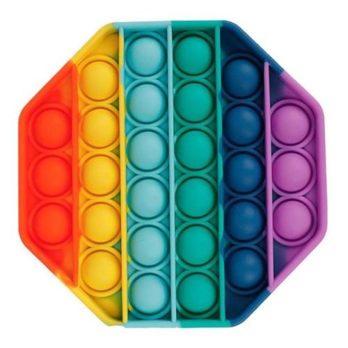 Pop It Fidget Toy Juego Antiestrés Unicornio Corazon Circulo