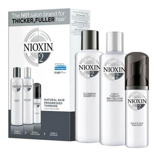 Kit Nioxin 2- 150 Ml Nioxin - Tratamiento Adelgazamiento Cap