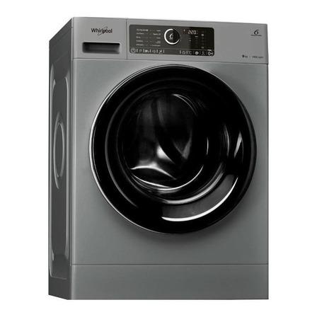 Lavarropas automático Whirlpool Supreme Care WLCF90S inverter plata 9kg 220V
