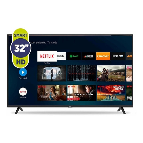"""Smart TV RCA XC32SM LED HD 32"""" 100V/240V"""