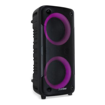 Alto-falante Bomber Beatbox 400 portátil com bluetooth preto