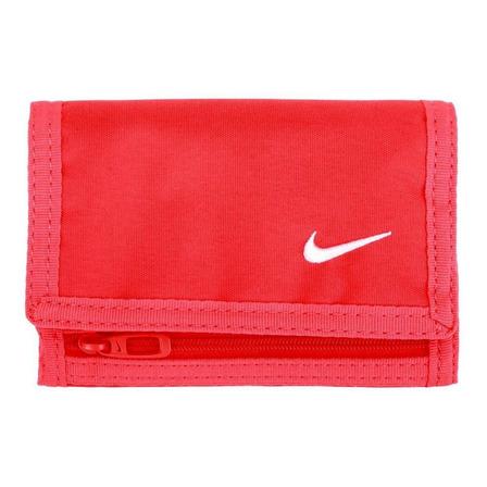 Billetera Nike Basic roja poliéster