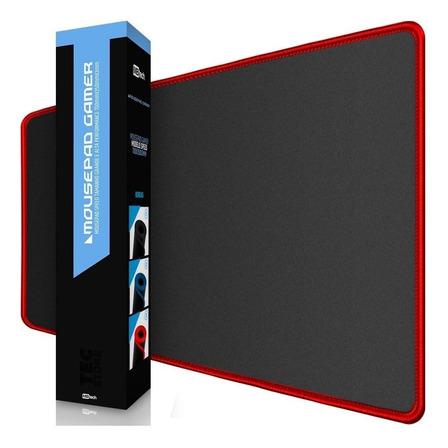 Mouse Pad MBtech 8969407 de borracha 350mm x 700mm x 3mm preto/vermelho