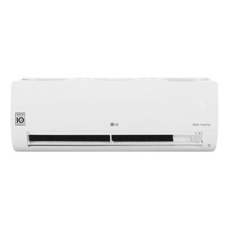 Aire acondicionado LG Dual Cool Inverter split frío/calor 5545 frigorías blanco 220V S4-W24KE3A0