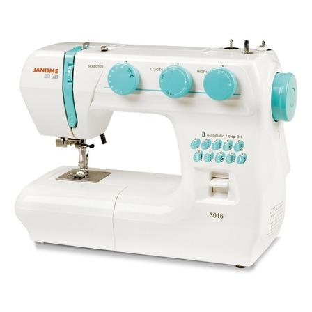 Máquina de coser Janome Alta Gama 3016  blanca 220V