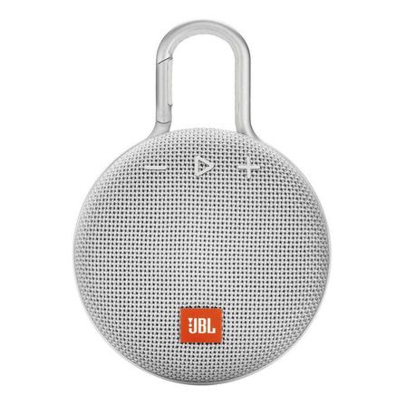 Caixa de som JBL Clip 3 portátil com bluetooth  steel white