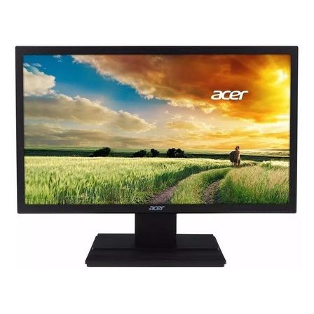 """Monitor Acer V6 V206HQL LCD 19.5"""" preto 100V/240V"""