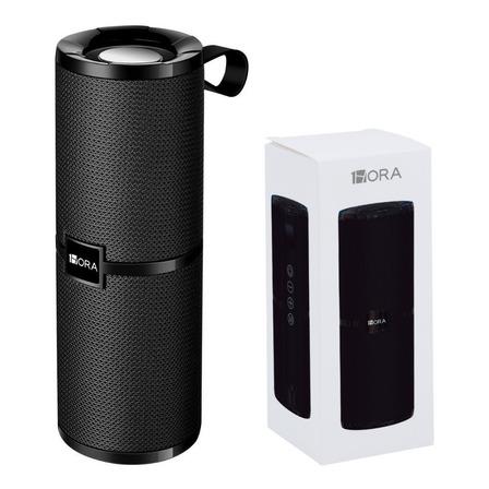 Bocina 1Hora BOC060 portátil con bluetooth negra