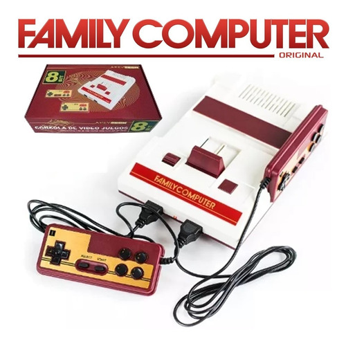 Consola Family Game Original Retro Juegos Integrados Palermo