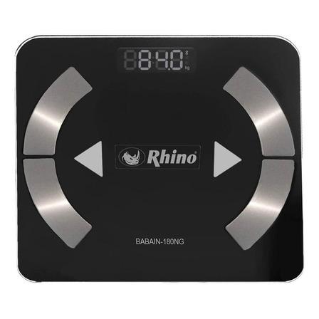 Báscula digital Rhino BABAIN-180 negra, hasta 180 kg