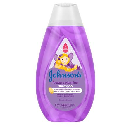 Shampoo  Johnson's Baby Fuerza y Vitamina 200ml