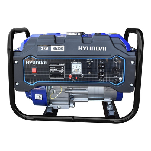 Generador portátil Hyundai HHY3000 3000W bifásico 110V/220V