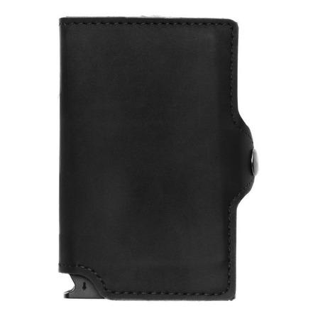 Billetera Walla Vintage black cuero