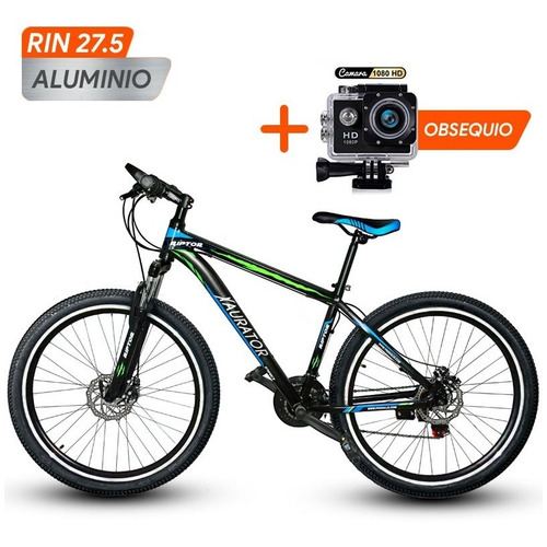 Bicicleta Xaurator Aluminio Rin 27.5 Shimano + Cam Deportiva