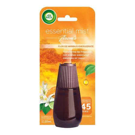 Repuesto aromatizante Air Wick Essential Mist Flor de Naranjo líquido 20ml