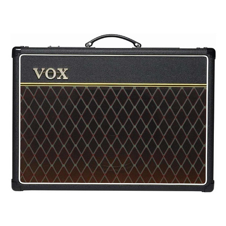 Amplificador VOX Custom Series AC15C1 Combo Valvular 15W negro