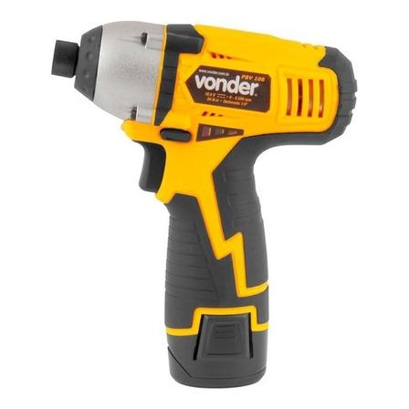 Parafusadeira sem fio Vonder PBV108 10.8V  amarelo/preto