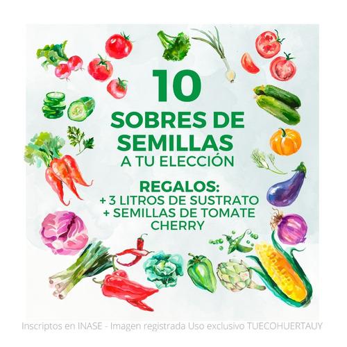 Semillas Huerta Y Aromáticas - A Elección - De Estación