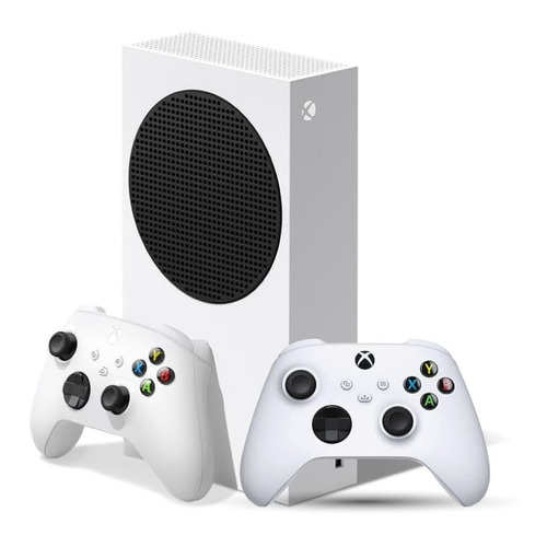Consolas Xbox Series S Combo + Joystick Robot Blanco Oficial