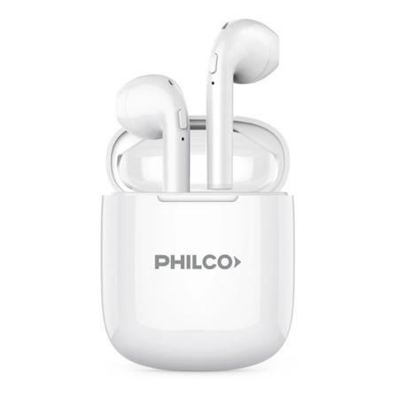 Auriculares In-ear inalámbricos Philco AP9TWS blanco