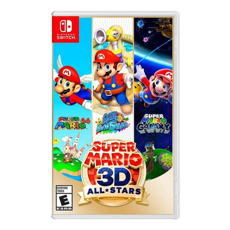 Super Mario 3D All-Stars Standard Edition Físico Nintendo Switch