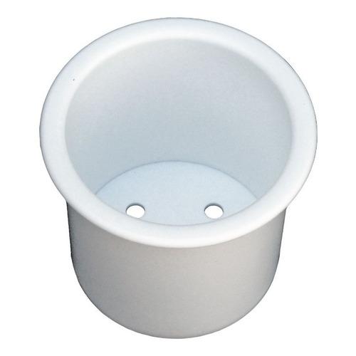 Posa Vaso De Embutir Soporte Plástico Blanco Lancha
