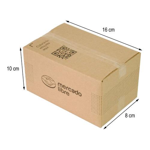 Caja Carton E-commerce 16x10x8 Cm Paquete 25 Piezas C0