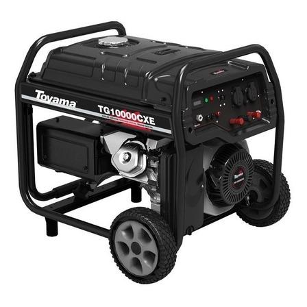 Gerador portátil Toyama TG10000CXE 9 kW monofásico com tecnologia AVR 115V/230V