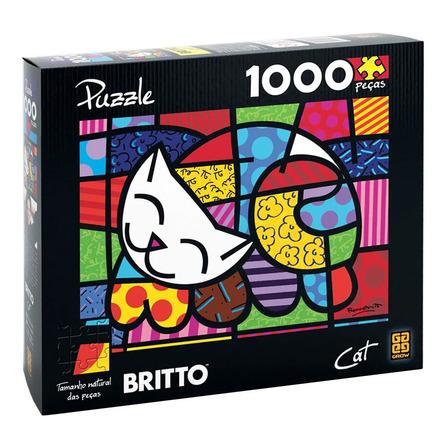 Quebra-cabeça Grow Cat de 1008 peças