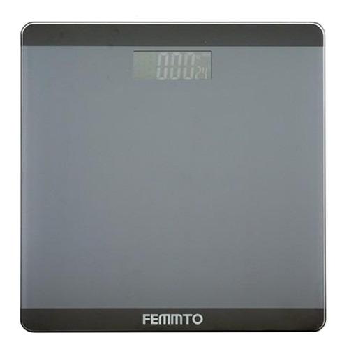 Balanza Digital Femmto B01 Negra, Hasta 180 Kg