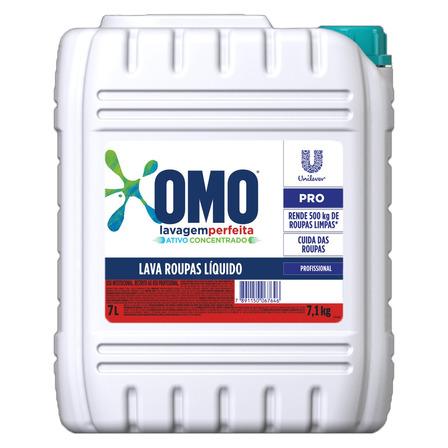 Sabão líquido Omo Lavagem Perfeita Pro galão 7L