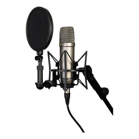 Micrófono Rode NT1-A cardioide plata