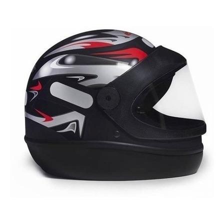 Capacete para moto  integral San Marino  Grafic  preto tamanho 58