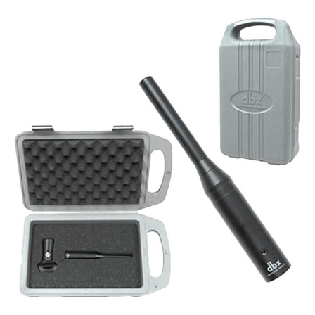 Microfone DBX RTA-M condensador  omnidirecional