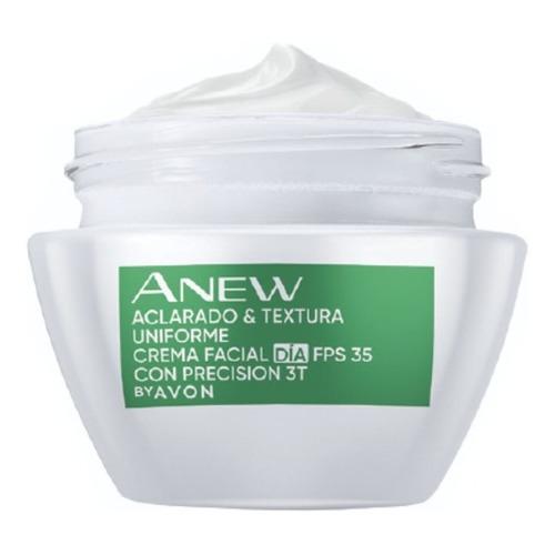 Crema Facial Aclaradora Fps 35 Día Avon Anew Clinical