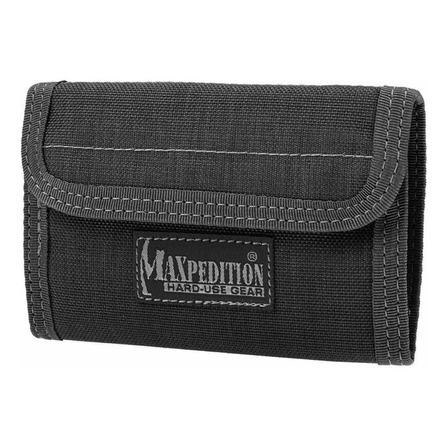 Billetera Maxpedition Spartan black nylon balístico