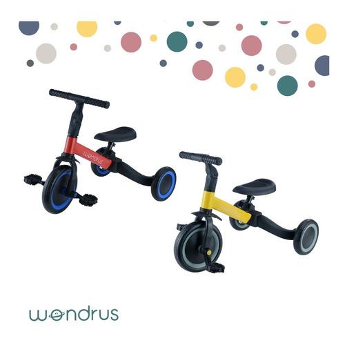 Triciclo Bicicleta 3 En 1 Para Niños 3-5 Años Wondrus
