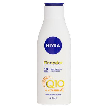 Loção Nivea Firmadora Q10 + Vitamina C em frasco 400ml
