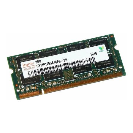 Memória RAM  2GB 1x2GB SK hynix HYMP125S64CP8-S6